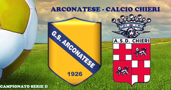 Arconatese-Chieri 1-3